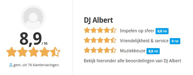 review van The DJ Company