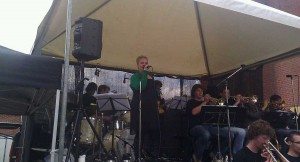 big band op braderie
